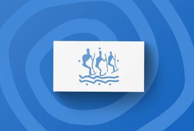 Логотип для Центра снегоходного сафари