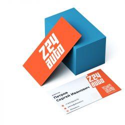 Разработка логотипа для «Z24 AUTO» — интернет-магазин автозапчастей
