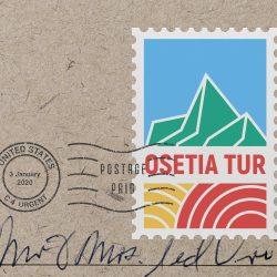 Логотип для организаторов туров по горам «Осетия тур»